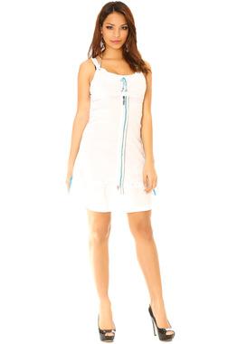 robe-a-bretelles-blanche-et-a-fermeture-eclaire-bleu-turquoise-923_collection4