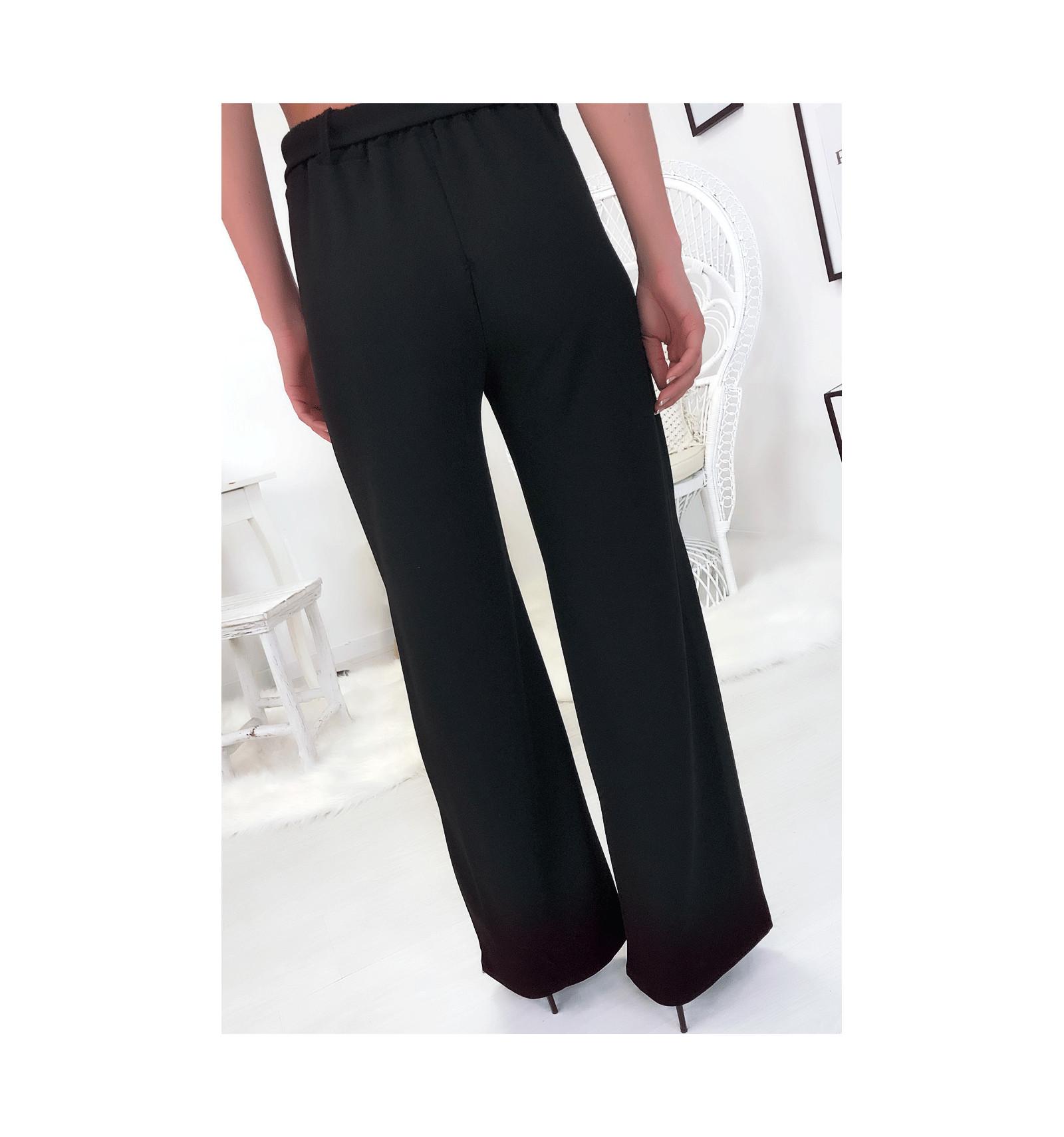 pantalon-palazzo-noir-avec-plis-et-ceinture-mode-femme-fashion (1)